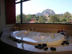 Luxury bath at Sedona Rouge Hotel and Spa