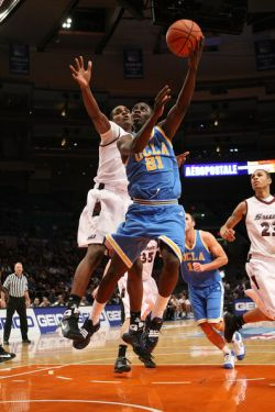 Unlike his years at Campbell Hall, Holiday completed his UCLA career with no accolades, no awards, no achievements, no post-season success.  Photo: Nick Lahan/Getty