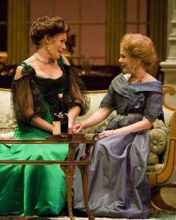 (L-R) Kelly McGillis and Julia Duffy. Photo by Craig Schwartz.