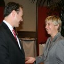 Gertler and City Controller Wendy Greuel