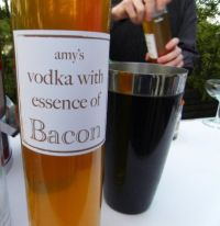The Bacon Affair consisted of a a five course meal completely infused with bacon, including cocktails. Said one guest, ""