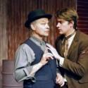 "Lloyd Pedersen and Ren Bell in ""The Pushcart Peddlars."" Photo: Doug Engalla"