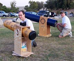 Sidewalk Astronomers Homemade Telescopes You Have To See