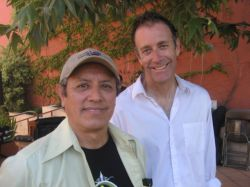 (L-R) Co-authors David Reyes and Tom Waldman