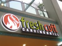 Fresh Cutt is located in the La Reina Shopping Plaza in Sherman Oaks. There is validated 2-hour parking in back. Photo: Karen Young