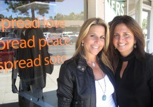 Co-owners and best friends(l-r) Jodi Perlman and Pam Frank