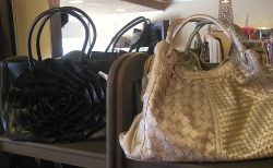 Buddha Bags are big sellers.
