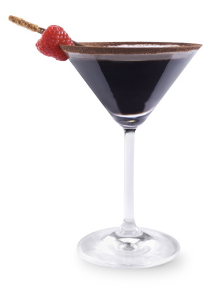 choc raspberry martini