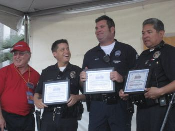 Van Nuys/Sherman Oaks lead officers were recognized