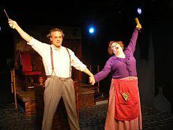 Sweeney Todd and Mrs. Lovett