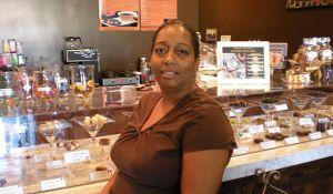 The Chocolate Bar owner LaTonja Simpson