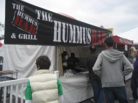 Tarzana's The Hummus Bar was a big hit.