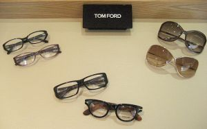 Tom Ford's designs have a retro flavor with a modern sleekness.