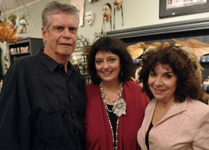 Richard Doran, Angela Cartwright and Pergolina owner Paulanna