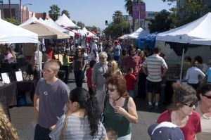 The Sherman Oaks Street Fair attracts nearly 400,000 people. Photo: Mel Powell