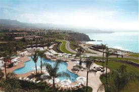 Overview of the Terranea Resort.