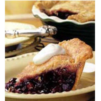 Wild Maine Blueberry Pie