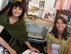 Vintage at Heart also showcases a line of clothing and jewelry called ACStudio9 developed by partners Angela Cartwright and Connie Freedman. Photo: Courtesy Angela Cartwright