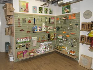 Hummingbird supply wall. Photo: Carole Rosner