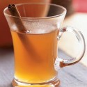 Hot Mulled Cider is made without alcohol — add it if you'd like.