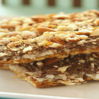 Coconut-almond crunch.