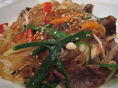 Chap Chae (glass noodles)