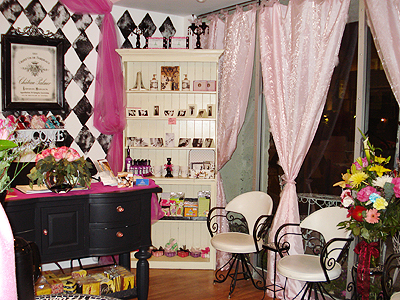 Pink palace. Photos: Courtesy Le Chic Spa