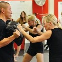Krav Maga in action.