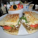 Paninis are pressed sandwiches. Photo: Carole Rosner