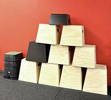 Plyo boxes.