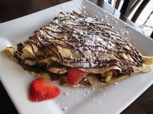 A crepe from Crave.   Photo: Rachel Heller