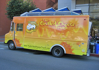 Grilled Cheese truck. Photo: Karen Young