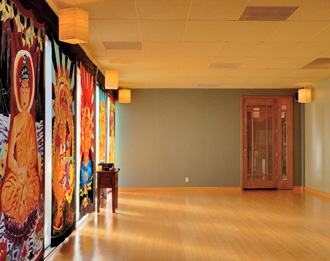 The Dog Pound, Black Dog's new downstairs cardio studio, offers high intensity workout classes such as bellydancing, kickboxing and cross-training. Single classes are $17.