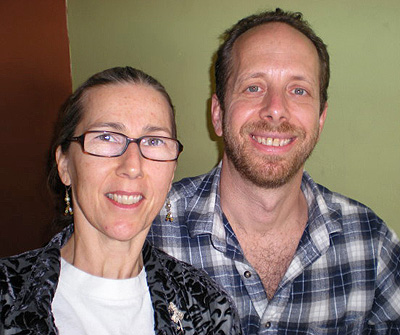 Lynne and Jamie Klein.