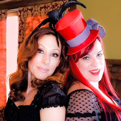 Stacy Lande and Carol Sheridan.