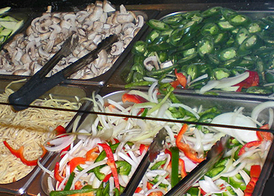 Teppanyaki vegetable.s