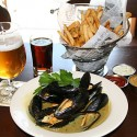 Mussels and fries. Photos: