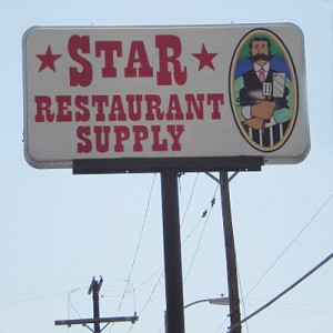 Star restaurant supply.