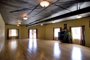 One of two studios.