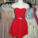Vintage party dresses from the 1940's and '50's range from $250-$450. Photos: Carol Rosner
