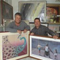 Art collector Bruce Stern and