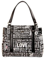 $5 of each purchase of the LOVE handbag is donated to Breast Cancer Awareness.