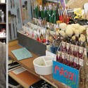 Chris Hauser and his wife Jenia own Carter Sexton Art Supplies in North Hollywood. Photos: Carole Rosner