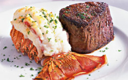 $32.95 for a 3 course Surf and Turf.