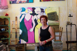 Olympic Artist Susan Manders is one of the Valley artists on tour.