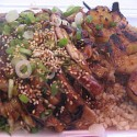 Teriyaki Chicken Plate with Shrimp