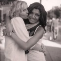 Tina Kesherian with Kirsten Dunst, who has been a client since age 12. Kirsten&#039;s mother, Inez, is now Kesherian&#039;s business partners at Belle Visage.