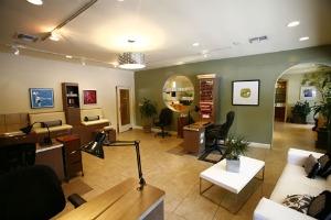 Full service nail salon inside Belle Visage.