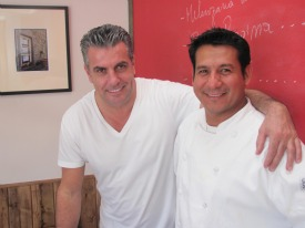 Owner Armando Pucci and Chef Jesus Guterezz  PHOTOS: Karen Young