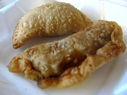 Empanadas: Beef and Guava/Goat Cheese